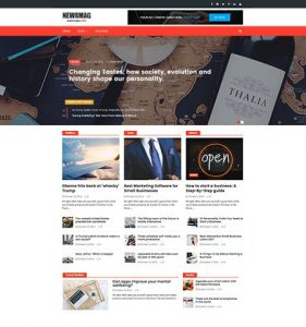 Newsmag Lite WordPress Theme