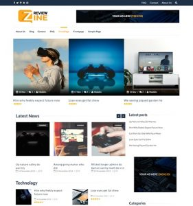 ReviewZine WordPress Theme